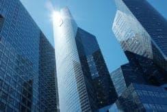immeuble travail banque