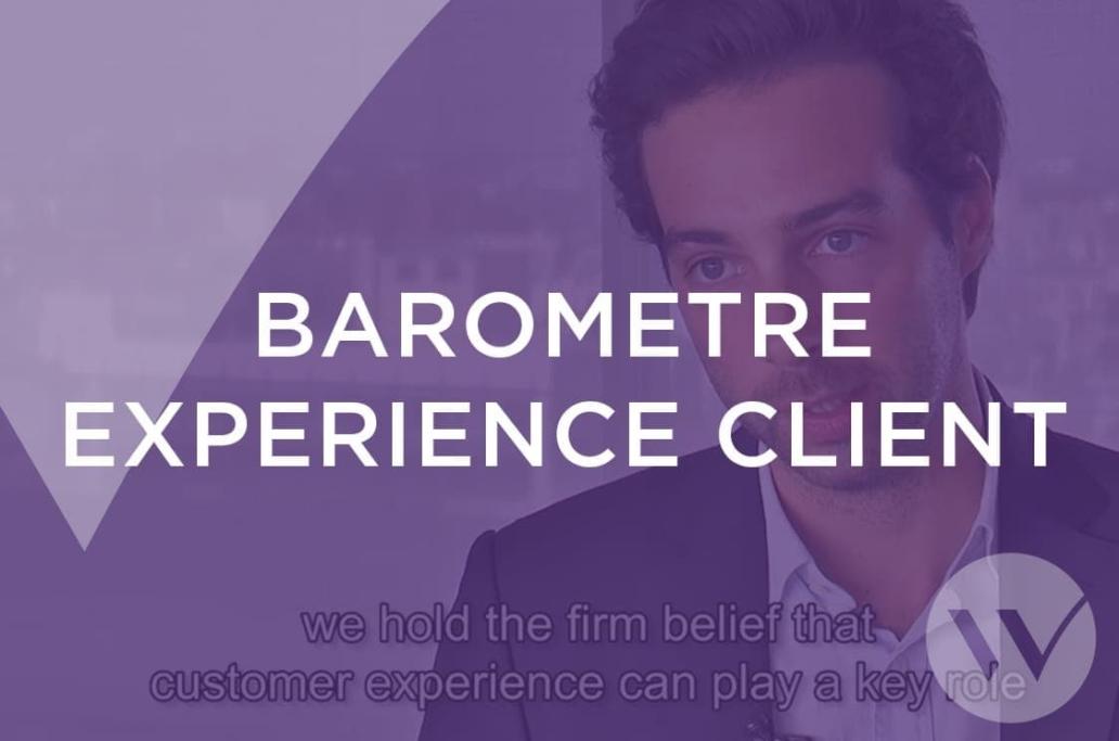 Baromètre expérience client vidéo